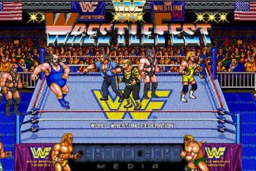 wwf wrestlefest cover